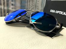 Brand Men Pilot Sunglasses Custom Optical Lenses Myopia and Presbyopia Polarized UV400 Design EXIA OPTICAL KD-505 Series