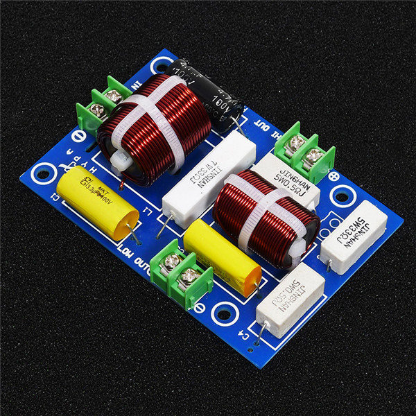 1pcs HIFI 2 way frequency divider crossover filter high fidelity tweeterwoofer HY-23HI 200W 8 ohm for Kasun amplifier