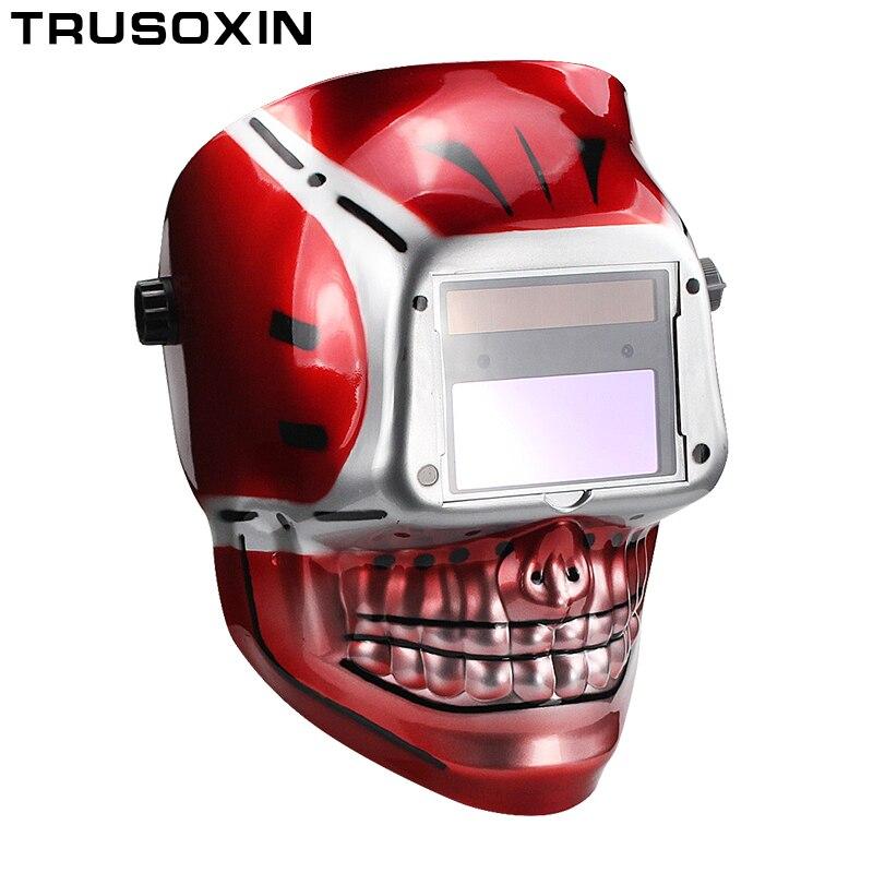 Solar Li Battery Outside Control Auto Darkening Grind Welding Helmet Welder Goggles Welder Mask Welding Mask in Welding Helmets from Tools