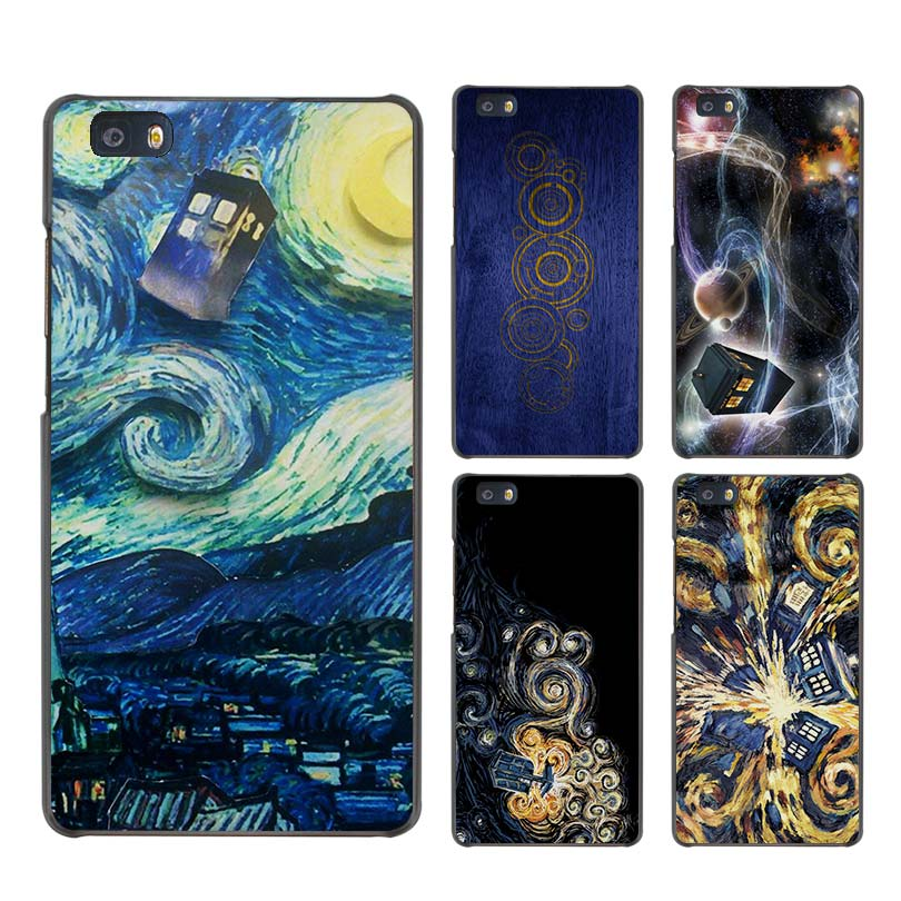 Tardis Box Doctor Who Transparent Silicone Soft Tpu Phone Cover Case For Apple Iphone 4 5 6 7 8 Plus X Back Coque Shell Elegant And Sturdy Package Half-wrapped Case
