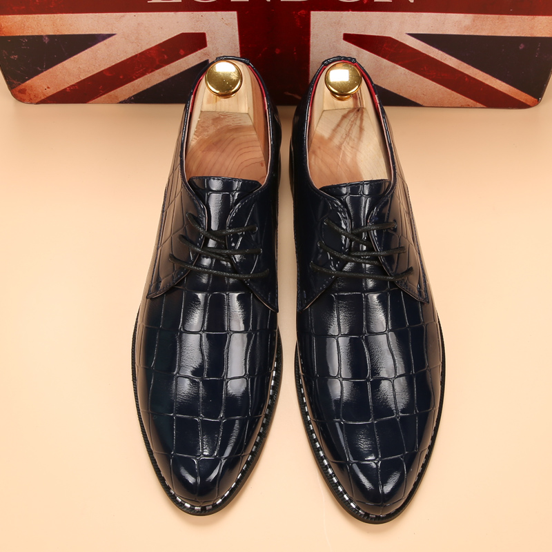 glossy dress shoes white flat wedding shoes patent leather loafers mens shoes luxury brand italian (14)