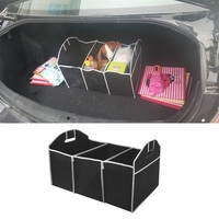 Folding Faltbare Robust & Robust Auto Lagerung Box Auto Veranstalter Einkaufen Ordentlich Faltbare Faltbare Platzsparende Lagerung Box Hot