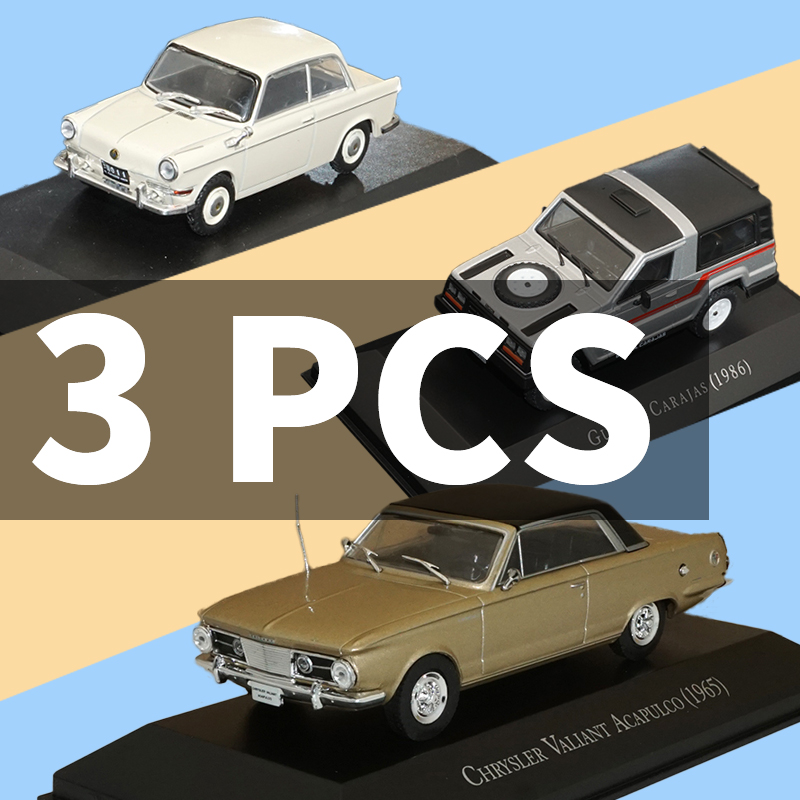 1 43 Diecasts Toy Car Model 3pcs Car Toy Vehicles Model Vehicle Toys for DE CARLO