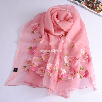 9 Designs Super Fairy Top Quality Ethnic Embroidery Wool Silk Shawl Beading Pashmina Long Scarf Light Warm Winter Scarf Wrap