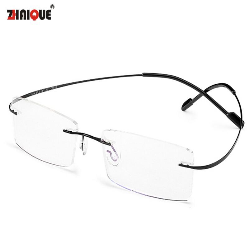 4185e757f6a 2015 New Titanium Brand Silhouette Glasses Frame Eyeglasses Men women With Original  Case Oculos de grau-in Eyewear Frames from Apparel Accessories on ...