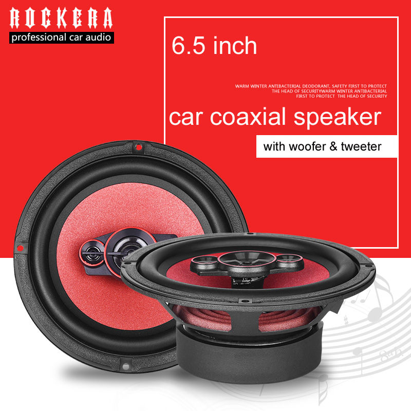 2019 High Class 6.5 Inch Coaxial Car Speaker With Car <font><b>Subwoofer</b></font> & Tweeter Speaker Max <font><b>300W</b></font> HIFI Sound Speaker 6x5 Car Audio image
