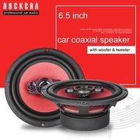 2019 High Class 6.5 Inch Coaxial Car Speaker With Car Subwoofer & Tweeter Speaker Max 300W HIFI Sound Speaker 6x5 Car Audio