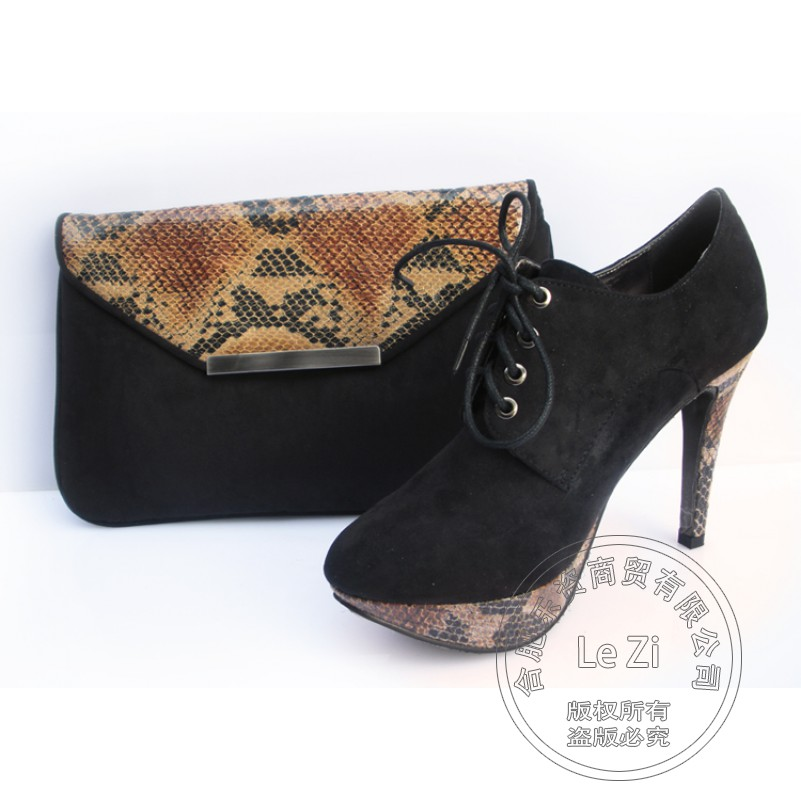 Ankle Strap Sexy Snakeskin African font b Women b font Shoes And Bags Italy Thin Heel