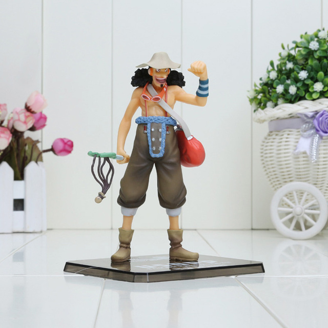 One Piece Luffy Zoro Sanji Usopp Brook Franky Nami Chopper figures