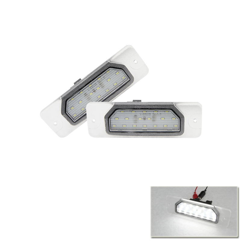 For Nissan NV200 10-16 Rear Tail License Light Number Plate Lamp