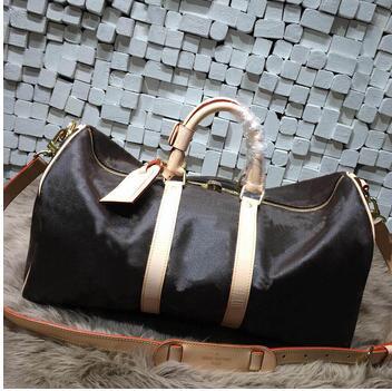 2019 nouveau sac de voyage de mode femmes sac à main en cuir véritable keepall sac avec livraison gratuite de haute qualité