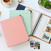 150 Pockets Mini Instax Wedding Baby Photo Album Holder Candy Color Book Style Album For 3