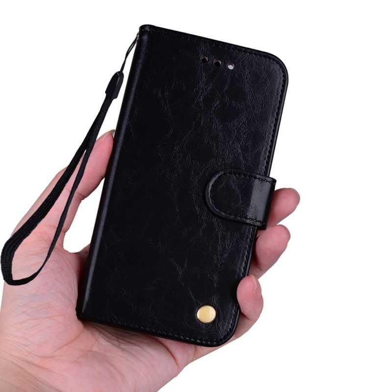 Флип чехол кожаный бумажник для Samsung Galaxy A6 A8 J4 J6 плюс A7 2018 A750F J1 J2 Pro J3 J5 J7 Neo 2017 J8 A9 A3 A5 Мягкая обложка