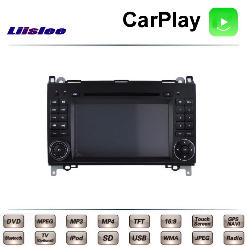 LiisLee For <font><b>Mercedes</b></font> Benz B200 <font><b>B180</b></font> B170 MB W245 2004~2012 Car Multimedia DVD <font><b>GPS</b></font> Radio Carplay Original Style Navigation Navi image