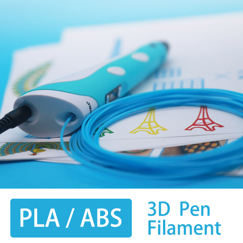 abs1 75mm filamen for 3d pen 3d print pen 3 d pens safety plastic 3d printing material best gift 20color Buy two 10 in 3D Pens from Computer Office