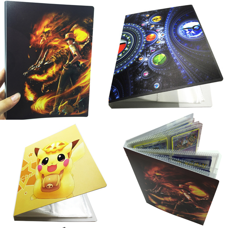 112pcs Pokemon Card Book Album Cosplay Props PVC Battle Map Mega Rayquaza Boys Girls Collection Books Pikachu Accessories(China)