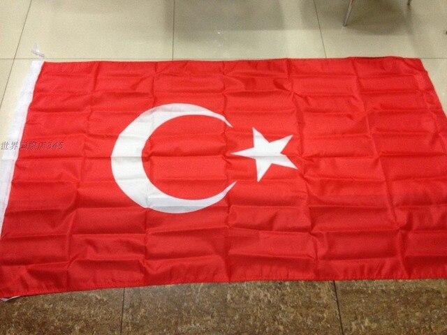 """דגלי עולם 90*150 ס""""מ חנות דגל תורכי נמכרים מותאמת אישית באיכות פוליאסטר משלוח חינם קישוט החגיגה"""