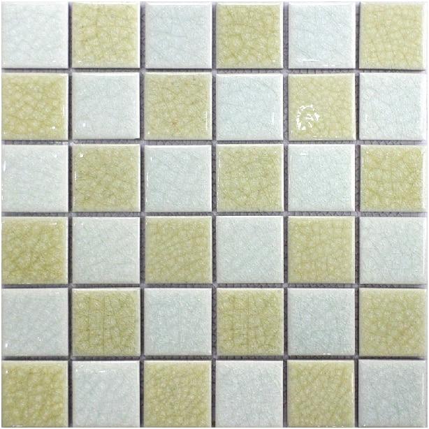 Mosaik Keramik Eis Knistern Fliesen Weiß Beige Küche Backsplash Fliesen  Porzellan Badezimmer Wandmosaik Kunst Blatt Schwimmbad