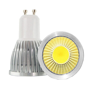 5W 7W GU10 Bulb Lampada COB LED Light 220V Lights 120V 110V Spotlight Lamp GU 10 Lighting Dimmable spot Lamps Warm Cold White