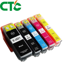 5 PCS T2621 26XL Ink Cartridge Compatible for INK Expression Premium XP-600 XP-605 XP-700 XP-800 XP-610 XP-615 XP-710 XP-810 цена
