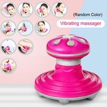 1 Pcs Mini Vibrating Massager Mushroom Shape USB Massage For Waist Back Neck Shoulder Dropshipping