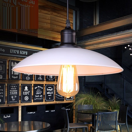 Simple Loft Style Iron Droplight Industrial Edison Vintage Pendant Lamp Dining Room RH Hanging Light Fixtures Indoor Lighting simple bar restaurant droplight loft retro pendant lamp industrial wind vintage iron hanging lamps for dining room