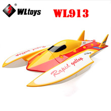 Wltoys WL913 2.4GHz Brushless Boat High Speed Racing RC Boat with Loop Water Cooling System