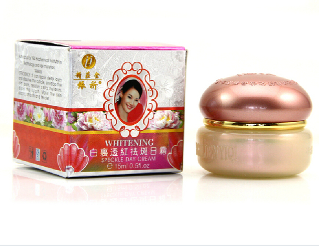 YiQi Whitening A cream 15g moisturizing third generation anti freckle face skin care whitening cream for face