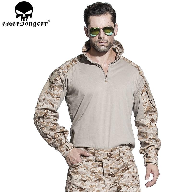 EMERSONGEAR Combat Uniform G3 Tactical Airtoft Pantallona këmishë - Veshje sportive dhe aksesorë sportive