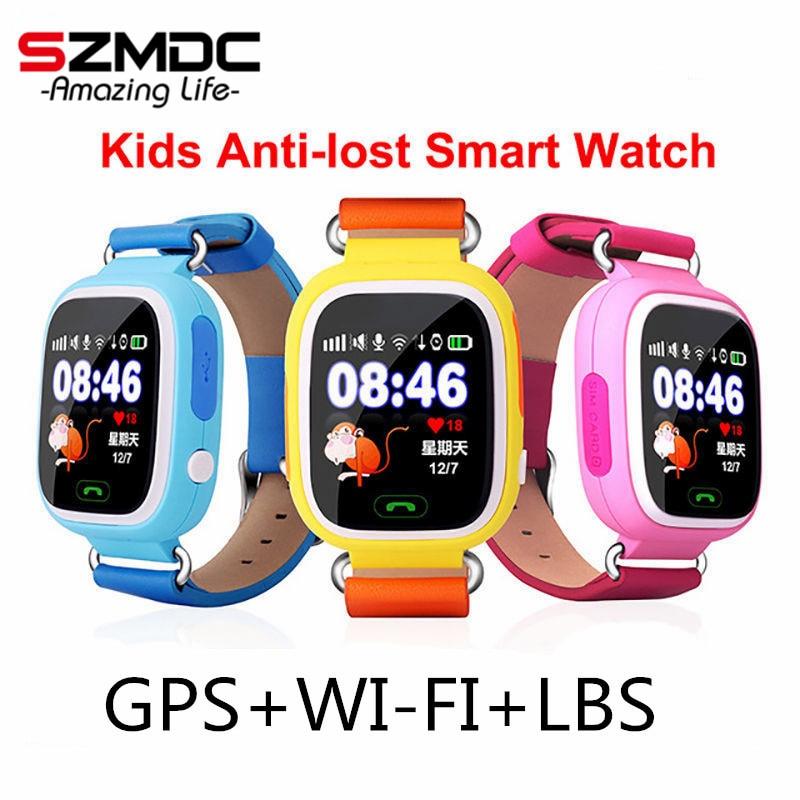 GPS Q90 WIFI Positioning kids Children Smart baby Watch SOS Call Location Locator Tracker Kid Safe