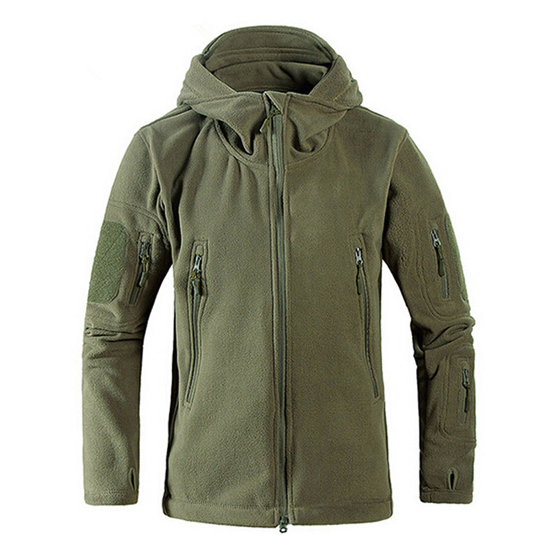 Unisex New Outdoor Micro Polar Fleece Jackets Thermal Trekking Coat hiking camping hunting fishing heated travel Clothes Men