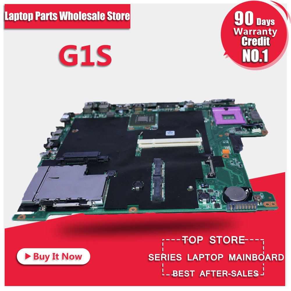 100% working Laptop Motherboard for ASUS G1S Series Mainboard,Fully tested v6j for asus vx1 laptop motherboard mainboard fully tested 100