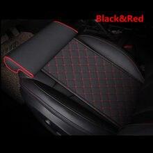 Cojín Universal de cuero para asiento de coche, almohadilla de apoyo para los muslos, cuidado de la pata de asiento