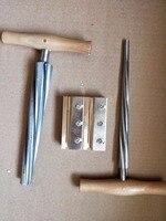 Cello luthier tool of Cello peg reamer cello end pin reamer cello peg shaver Quality Brass tools
