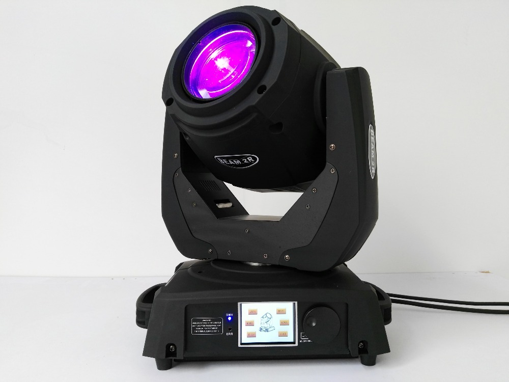 2Pcs/lot dmx moving head 132W stage equipment 2r moving head beam light for dj culb concert wedding show bar 2pack 132w beam moving head dj disco party stage lights high power 2r 132w stage beam effect moving head light free shipping