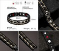 2016 unique muslim religious male power health balance therapy energy germanium jewelry bracelet with magnets for men