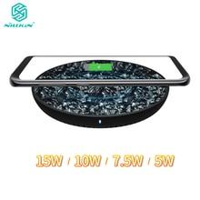 NILLKIN 15W 7.5W Qi Wireless Pad Caricabatterie per il Samsung Nota 10 10 + S10 S9 per il iphone 11 XS Max per Xiao mi mi 9 per huawei P30