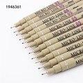Чернильная ручка, микро-ручки 05 цветов для рисования скетчей, для школы и офиса, художественные маркеры для рисования манги