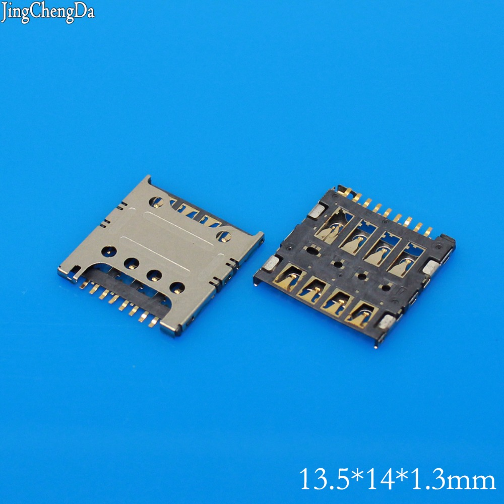 Jing Cheng Da 30pcs/lot New Sim Card Slot Socket Reader Holder Tray for LG F240L/S/K G2 E980 E988 F320 D415 E985t
