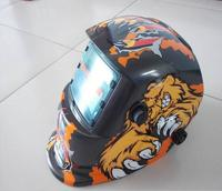 Bear's power decals wipes masks tig / plasma cut face protection helmet goggles handsome Large window welding mask