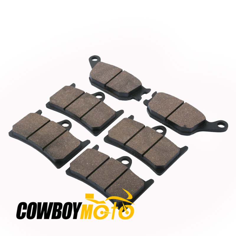 FRONT & REAR Disc BRAKE PADS FOR YAMAHA R6 YZFR6 YZF-R6 2003 - 2013 2004 2005 2006 2007 2008 2009 2010 2011 2012 FRONT REAR PADS motorcycle front and rear brake pads for yamaha xvz 1300 xvz1300 royal star tour deluxe 2005 2007 brake disc pad