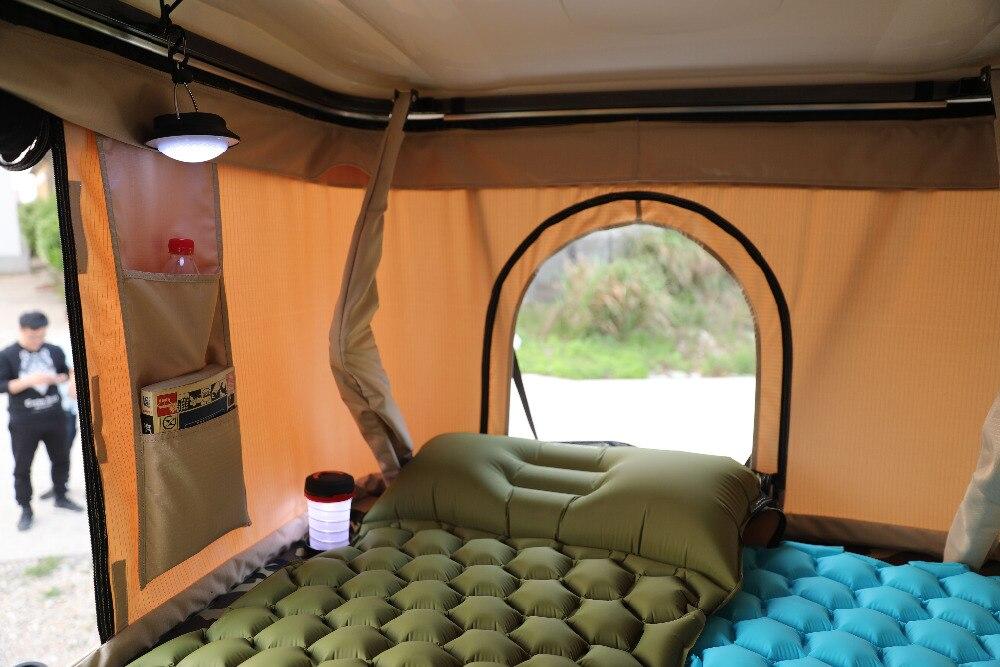 dormir esteira de enchimento rápido ar moistureproof cama de ar