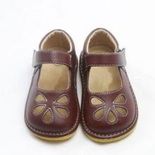 Обувь для маленьких девочек; пищалка; обувь для детей 1-3 лет; ручная работа; mary janes; белый, черный, коричневый цвет; с вырезами; zapatos; для малышей