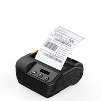 Thermal Printer Mini Portable 2 in 1 paper receipt and label printing Wireless 80mm bluetooth barcode Thermal printer