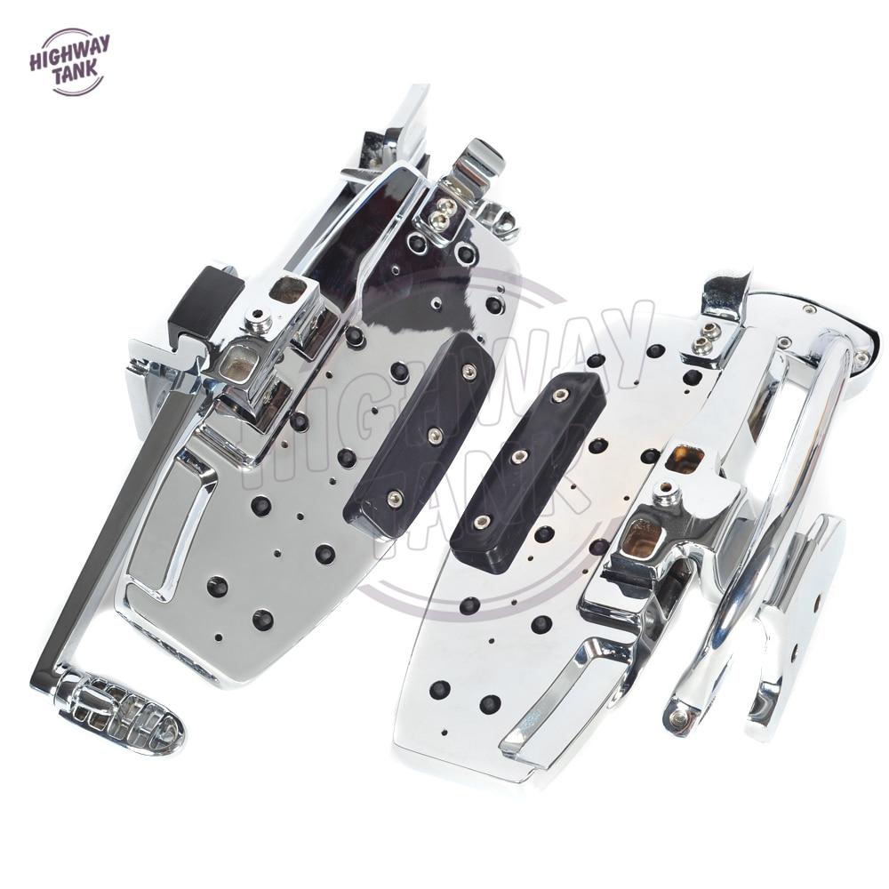 Motorfiets Driver Treeplank Floorboard Moto Voorpootsteun case voor - Motoraccessoires en onderdelen - Foto 6