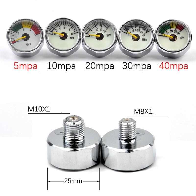 High pressure gauge with luminous Manometer Water Oil Air pressure meter for constant pressure valve tire gauge controller