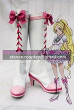 Maßgeschneiderte Billig Suite Pretty Cure Heilung Rhythmus Cosplay Stiefel Cosplay Schuhe Halloween(China)
