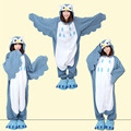 Night Owl Pajamas For Adult Owl Cosplay Costumes  Kigurumi Animal Bird Pajamas Cartoon Jumpsuits For Girls Winter Carnival Party