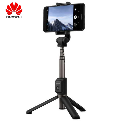 Original Huawei Honor bluetooth Selfie Stick Tripod wireless Monopod Extendable Handheld Tripod Holder for IOS Android phone ...
