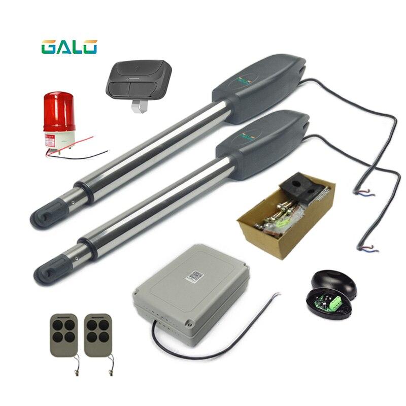 Feuille de porte simple ouverte résistante 400kgs, ouvreur d'oscillation de porte de 3.5 m/automatique votre porte de villa dans la voiture